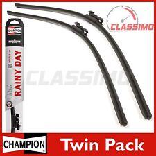 Champion Flat Front Wiper Blades for FORD MONDEO Mk 4 C-MAX Mk 1 + VOLVO C70 V40