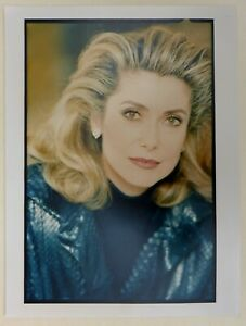 Photo Tirage argentique circa 1990 - Catherine Deneuve - actrice cinema