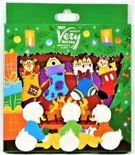 Disney Very Merry Christmas Party 2017 Tigger Chip & Dale 4 Pin Box Set LE 1000