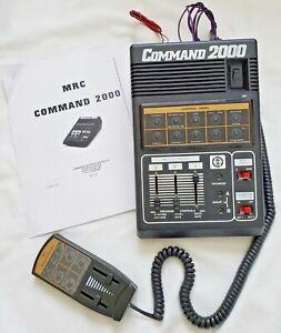 MRC Command 2000 Model Train Control Panel & Walkaround 2000-No Power Supply
