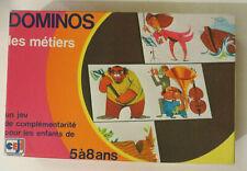 Domino des métiers, Ceji, années 70 - Cavahel vintage