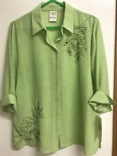 Women's Size 14 Allison Daley Blouse- 3/4 Length Sleeve  - NWT