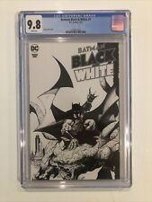 Batman Black & White #1 CGC 9.8 Greg Capullo cover 2021
