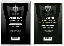 500 Ct Max Pro Current Comic Bags & Backing Boards - New 6-578 x 10-1/2