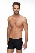"Maru Solid Pacer Short Swimming Trunks Black 36"" Waist Mens"