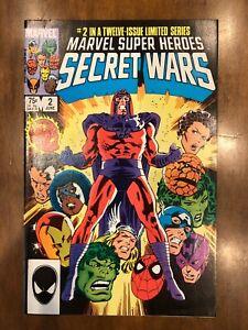 Marvel Super-Heroes Secret Wars Issues #2-3 (1984) Wolverine Excellent Copies