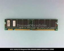 Kingston KTC-2428/32 SDRAM 32MB PC-66 Non ECC RAM Memory