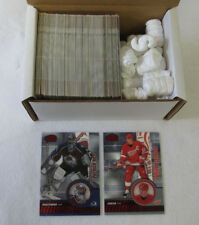 2003-04 Pacific Invincible Hockey Red Parallel Set (1-125) (#'d out of 850)