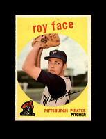 1959 Topps Baseball #339 Roy Face (Pirates) NM
