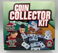 Coin Collector Kit Hobby Supplies Coins Start Coin Collecting Foreign US Coinage