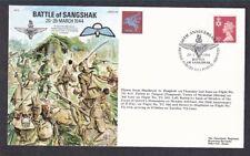 50Th Anniv. Battle Of Sangshak Great Britain #Nimh59 Cover + Text 1994