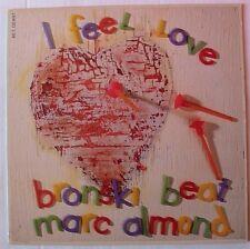 "BRONSKI BEAT  MARC ALMOND (Maxi 45T 12"") I FEEL LOVE"
