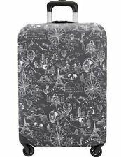 TRAVELON Luggage Cover Medium 22-26 Black Print NIB