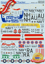 "Print Scale 72-104 "" Wet Decal for Grumman S-2 Tracker "" Model Decals 1/72"