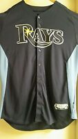 Tampa Bay Rays Authentic Team issued Majestic  Jersey #50 MLB authentication