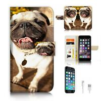 ( For iPhone 6 / 6S ) Wallet Case Cover P6333 Bull Dog