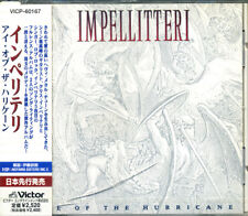 IMPELLITTERI Eye of the Hurricane (1998) Japan CD OBI VICP-60167 ROB ROCK