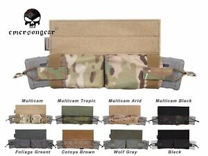 Emerson Side Pull Magazine Pouch Molle Tactical Mag Hook Loop Combat Pouch