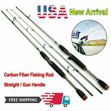 6 Foot Fishing Rod Carbon Fiber Outdoor Spinning Lure Pole Sea Saltwater Roller