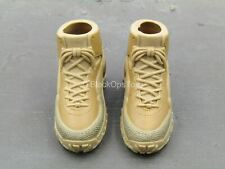 1/6 Scale Toy ACE - Tan Combat Boots (Foot Type)
