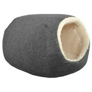 """Boots & Barkley Small Pet Bed, 16"""" x 12"""" x 10"""", Pets up to 25lbs, Gray, New"""