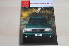 97416) Suzuki Grand Vitara XL-7 Prospekt 06/2003