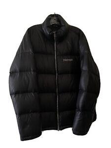 Marmot Men's Puffer Down Jacket Black XL