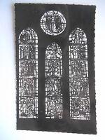 """CPSM """"Montereau - Collégiale Notre Dame et Saint Loup - Vitrail de l'abside"""""""