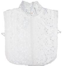 Arancia Lace Neck Cover Islamic Modest Chest Coverage White