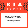 976261W100 Kia Valveexpansion 976261W100, New Genuine OEM Part