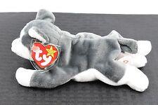 VERY RARE Original Retired Beanie Baby Nanook the Husky 1996 MWMT 7 Tag errors