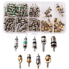 134 pcs R134a A/C Car Auto AC Air Conditioning Valve Core Assortment Kit New