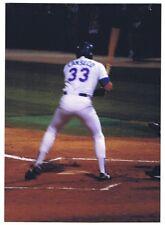 Jose Canseco Vintage 1993 Baseball Original Photograph Texas Rangers Oakland A's