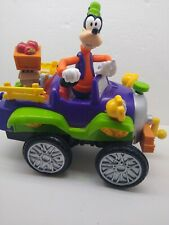 Vintage Mattel Disney Toy Goofy's in a Farm truck, talks and moves, works
