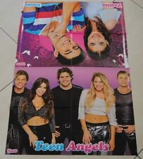 Poster 4 parti cm 52x80 Violetta e Thomas Teen Angels retro one direction Bieber
