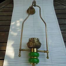 Lampe Plafond Laiton Manque Verre 63 Cm - 600 Grs