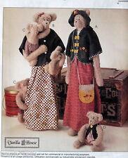 "Giant greeter Teddy Bear Pattern Mom Momma baby 26"" Vanilla house"
