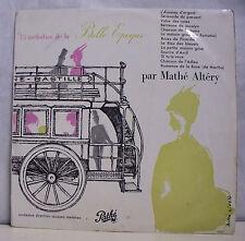 """33 tours MATHE ALTERY Disque Vinyle LP 12"""" 13 MELODIES BELLE EPOQUE - PATHE 108"""