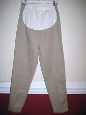 NWOT DUO Womens Maternity Khaki Pants Sz 8