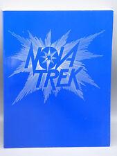 """Nova Trek"" Classic Star Trek Anthology Zine by Helena Seabright 1990 Fanzine"