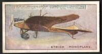 German Etrich Taube Monoplane Avaiton History 100+ Y/O  Trade Ad Card
