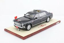 1:24 HongQi CA7600J Inspection Limousine 70th Anniversary Victory Century Dragon