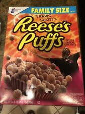 Travis Scott Resses Puffs Cereal