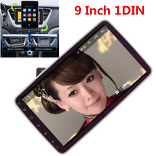 Single DIN Car Stereo FM Radio 9in HD Touch Screen 1+16GB GPS Wifi Mirror Link