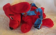 "Scholastic Clifford Big Red Dog Zipper Backpack Plush Stuffed Animal 12"" Long"