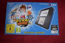 Nintendo 2DS Konsole Blau Schwarz + YO-KAI WATCH Edition YOKAI YO KAI