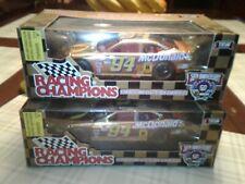 Lot of two 1998 Racing Champions 1:24 Gold NASCAR 50th McDonald's Taurus #94