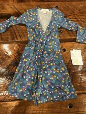 New LuLaRoe Sariah Size 2 Pink Blue Flowers Floral Yellow Precious Nwt