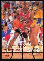1998 Upper Deck MJ Timeline Michael Jordan 1st. Half Chicago Bulls 21..