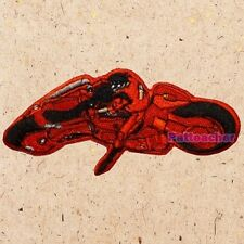Akira Motorcycle Patch Kaneda Good For Health, Bad For Education Embroidered